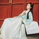 National costume / stage costume Spring of 2019 Top in stock, half sleeve in stock, lower skirt in stock, 3-piece children's wear in stock (top + Half Sleeve + lower skirt) S,M,L,XL,100 ZRX19HZ002 The flower Dynasty 18-25 years old polyester fiber 96% and above