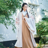 National costume / stage costume Autumn of 2019 Zhili in stock, cloak in stock S,M,L Autumn rain The flower Dynasty