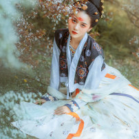 Hanfu 96% and above Spring 2020 T-shirt in stock, back in stock, skirt in stock S,M,L polyester fiber