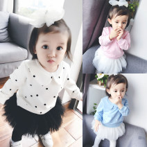 Sweater / sweater Bella neutral 52cm,59cm,66cm,73cm,80cm,90cm,100cm,110cm,120cm spring and autumn nothing leisure time Socket routine There are models in the real shooting cotton Dot Cotton 95% other 5% fzwy2320 Class A