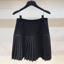 skirt Spring 2021 1 / XS, 2 / s, 3 / m, 4 / L, 5 / XL Black, apricot Short skirt Versatile High waist Pleated skirt Solid color Type A 25-29 years old 1200233-255611-001 51% (inclusive) - 70% (inclusive) other Xgirdearst / heathy Cellulose acetate Zipper, stitching