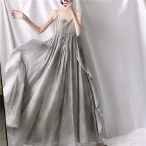 Dress Summer 2020 Tie dyed grey Average size