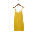 Dress Summer 2020 Red, white, yellow, black, apricot, beige Average size AC412