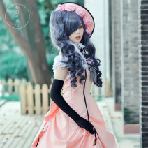 Cosplay women's wear suit goods in stock Over 14 years old comic Begonia Chinese Mainland Black deacon The shire