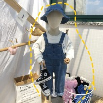 trousers Other / other neutral 90cm,100cm,110cm,120cm,130cm Suspender trousers, suspender skirt spring and autumn trousers Korean version No model rompers Button middle-waisted Denim Don't open the crotch Class A rompers 2 years old, 3 years old, 4 years old, 5 years old, 6 years old, 7 years old
