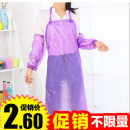 apron Sleeve green, sleeve blue, sleeve pink, sleeve purple, sleeve red, apron green, apron blue, apron pink, apron purple, apron red Sleeveless apron waterproof Simplicity PVC Household cleaning Average size H1125 Good neighbor public no Solid color