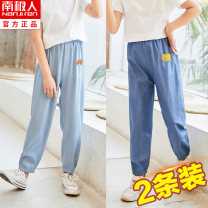 trousers NGGGN female 90cm 100cm 110cm 120cm 130cm 140cm 150cm 160cm 165cm summer trousers leisure time There are models in the real shooting Casual pants Tether cotton Don't open the crotch Cotton 100% YJF202103018011000 Class B Anti mosquito trousers Summer 2021 Chinese Mainland Hubei province