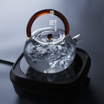 teapot Heat resistant glass other Heat resistant glass yes Self made pictures See description 701ml (including) - 800ml (including) Japanese  like a breath of fresh air