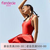 one piece  Fandecie  M L XL Skirt one piece With chest pad without steel support Spring 2020 yes female Sleeveless Casual swimsuit