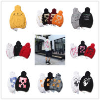 Sweater Youth fashion Others S,M,L,XL other Socket Thin money Hood autumn easy leisure time youth tide routine Terry cloth cotton printing No iron treatment 90% (inclusive) - 95% (inclusive) Mingji thread patch bag