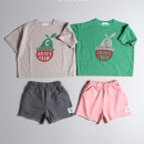 trousers Other / other neutral 80cm(XS) , 90cm(S) , 100cm(M) , 110cm(L) , 120cm(XL) Pink is not refundable [about 5-15 days], charcoal is not refundable [about 5-15 days] summer shorts Korean version Casual pants cotton Class A