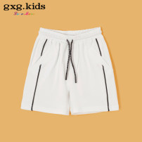 trousers middle-waisted Rubber belt Class B Three, four, five, six, seven, eight, nine, ten, eleven, twelve gxg kids male shorts summer Casual pants No model in real shooting Don't open the crotch Cotton blended fabric Cotton 95.6% polyurethane elastic fiber (spandex) 4.4% KY122428C Other white