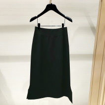 skirt Spring 2021 1 / XS (26), 2 / S (27), 3 / M (28), 4 / L (29), 5 / XL (30), 6 / XXL (31) black Mid length dress gorgeous High waist A-line skirt Solid color Type A 1200263-2036211-001 51% (inclusive) - 70% (inclusive) other Pinge Dixin other