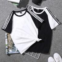 T-shirt White, black, four girls, white M,L,XL,2XL,3XL cotton 96% and above
