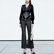 Fashion suit Spring 2021 S,M,L,XL Elegant black (7-10 days delivery), elegant black (in stock) 25-35 years old Duffy fashion GC22313G 30% and below spandex