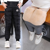 trousers Min Xing male 100cm,110cm,120cm,130cm,140cm,150cm,160cm Black (printed cashmere), black (embroidered cashmere), black (medium waist cashmere), blue (medium waist cashmere), red (medium waist cashmere), blue (printed cashmere) winter trousers leisure time There are models in the real shooting