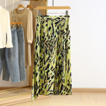 skirt Spring 2021 S,M,L,XL,2XL Decor Mid length dress commute Natural waist other Type A RKR15Q022 More than 95% Other / other Korean version