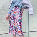 skirt Summer 2020 1 = XS, 2 = s, 3 = m, 4 = L, 5 = XL The design and color are shown in the picture longuette Versatile High waist High waist skirt Decor Type A 30-34 years old 71% (inclusive) - 80% (inclusive) other O'amash banner other Ruffle, print