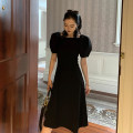Dress Winter of 2019 black S, M