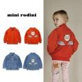 Plain coat MINI RODINI neutral 80-86cm 92-98cm 104-110cm 116-122cm 128-134cm 140-146cm Red space cat Baseball Jacket denim blue space cat denim jacket