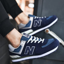 Running shoes NB 35,36,37,38,39,40,41,42,43,44,45 For men and women NB574 Leisure walking Frenulum Autumn 2020 Trail, road, runway no Sports Life Series TPU + artificial leather + fabric Antiskid rubber Sewing