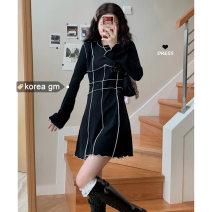 Dress Spring 2021 black S,M,L 18-24 years old