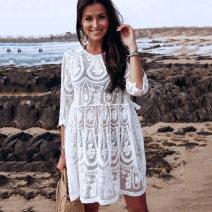 Bikini MANGA white Average size Casual surf swimsuit nylon