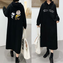Sweater / sweater Winter 2020 L,XL,2XL,3XL Long sleeves have more cash than can be accounted for Socket singleton  Plush Hood easy commute raglan sleeve Cartoon animation 81% (inclusive) - 90% (inclusive) Korean version cotton printing cotton Cotton liner zipper