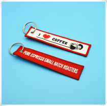 Key buckle Other brands gules cotton Photo type Embroidered key chain