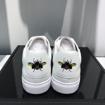 Low top shoes white 38,39,40,41,42,43 Other / other Cattle hide (except cattle suede) Frenulum Round head Outdoor leisure shoes Pig skin