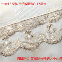 lace Mi er Setting yarn + polyester light European style Combination sofa cushion cover towel 15 yards for 6cm + 17cm 13.716m