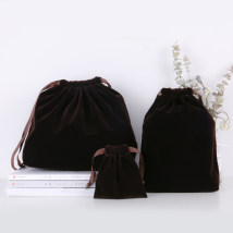 Other storage bags Small coffee flocking medium coffee flocking big coffee flocking