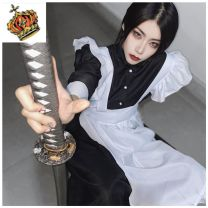 Cosplay women's wear suit goods in stock Over 14 years old Black and white-74j Animation, games S. M, l, XL, XXL, XXXL, large Gothic, maid