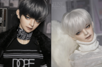 BJD doll zone a doll 1/3 Over 14 years old goods in stock No makeup white muscle Service charge of domestic SF on delivery credit card / Huabei payment