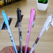 Roller ball pen Xuanli 0.5mm black random Upright posture no