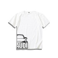 T-shirt Youth fashion White A3, white A4L, white A7, white q2l, white TT, black A3, black A4L, black A7, black q2l, black TT, customized thick M,L,XL,2XL,3XL,S Leading star Short sleeve Crew neck easy daily Four seasons T1000 routine cotton The thought of writing More than 95%