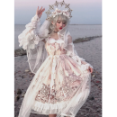 Fashion suit Winter of 2019 S. M, l, headband KC, lace headdress, detachable skirt, long cake sleeves Five piece set 278 yuan, customer service price change, beige, black (accessories please buy separately) Other / other 51% (inclusive) - 70% (inclusive)