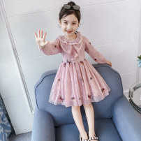 Dress Pink female Other / other 110cm,120cm,130cm,140cm,150cm,160cm Other 100% spring and autumn Korean version Skirt / vest Solid color other A-line skirt QZ8050—5 Class B Three, four, five, six, seven, eight, nine, ten, eleven, twelve
