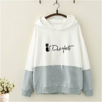 Sweater / sweater Spring 2020 S,M,L,XL,2XL Long sleeves have cash less than that is registered in the accounts Thin money Hood Cartoon animation Under 17 Cellulose acetate