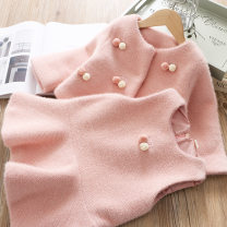 Dress Pink, off white, apricot, light pink, off white bottomed sweater, medium pink female Other / other Other 100% winter Korean version Long sleeves Solid color other other MN  000201 Class B 2 years old, 3 years old, 4 years old, 5 years old, 6 years old, 7 years old Chinese Mainland