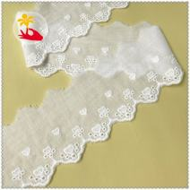 lace Off white one yard (91cm) cotton Embroidery