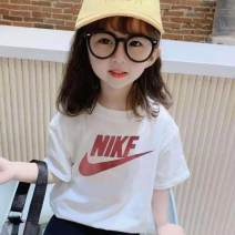 T-shirt White, orange, black, blue, white 1, white 3, white 4 Other / other 90cm,100cm,110cm,120cm,130cm,140cm neutral summer Short sleeve Crew neck leisure time There are models in the real shooting nothing cotton Cartoon characters Cotton 100% Class A Sweat absorption Chinese Mainland Huzhou City