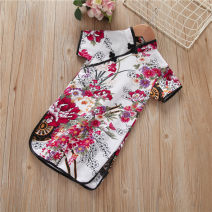 cheongsam 90y(80cm),100y(90cm),110y(100cm),120y(110cm),130y(120cm) Cotton 70% other 30% No model No season 12 months, 18 months, 2 years old, 3 years old, 4 years old, 5 years old, 6 years old