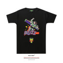 T-shirt Youth fashion black routine LVAIREN Short sleeve Crew neck standard daily summer teenagers routine Youthful vigor Cotton wool 2019 character printing cotton Figure pattern tto  Designer brand More than 95%