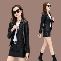 leather clothing Oana  Autumn of 2019 M,L,XL,XXL,XXXL 8819, order and deliver have cash less than that is registered in the accounts commute Sheepskin 25-29 years old