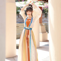 Hanfu 96% and above Spring 2020 polyester fiber