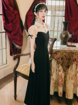 Dress Summer 2020 black S,M,L five thousand one hundred and sixty-one #