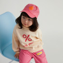 T-shirt Beige sweater and Pink Embroidered trousers NNGZ 110cm 120cm 130cm 140cm 150cm female spring and autumn leisure time There are models in the real shooting nothing cotton Cartoon animation Cotton 82.8% pet 17.2% B211D901 Class B Spring 2021 Chinese Mainland Zhejiang Province Hangzhou