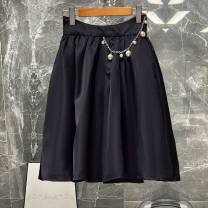 skirt Summer 2021 S,M,L,XL Picture color Middle-skirt Versatile High waist 25-29 years old 51% (inclusive) - 70% (inclusive) other pocket