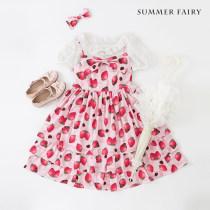 Dress Summer of 2018 Pink White Black S M L XL Middle-skirt singleton  Sleeveless Sweet High waist Princess Dress camisole 18-24 years old Type A 71% (inclusive) - 80% (inclusive) Chiffon polyester fiber Lolita